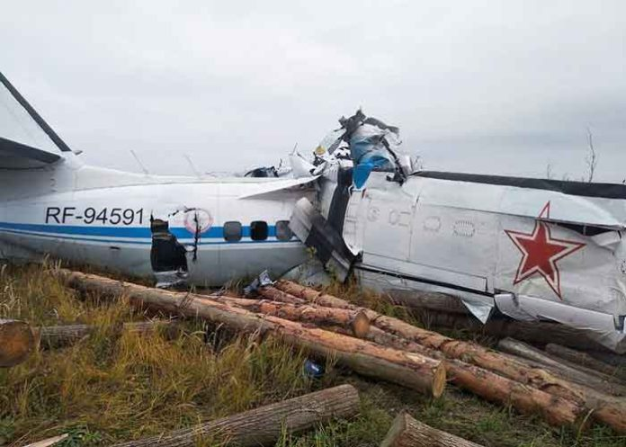 Russia Plane Crash 10Oct21