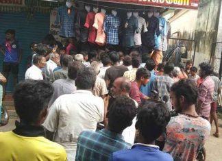 Shop shut after huge crowd