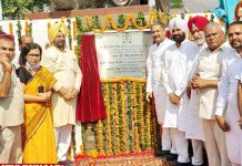 Singla unveils statue Baba Banda Singh Bahadar Fatehgarh Sahib