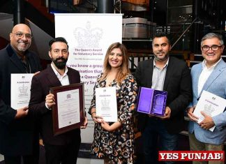 Soho Road BID recognized by The Queens Award
