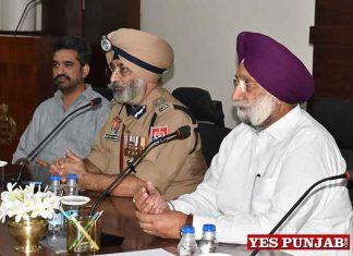 Sukhjinder Randhawa Iqbal Preet Bawa Henry meeting Jalandhar