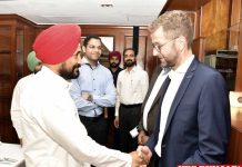 channi meet delegation of German Companies