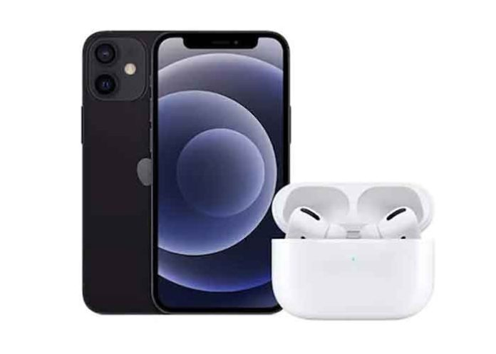 iPhone 12 AirPods